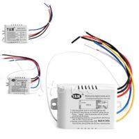 Беспроводной Выключатель с дистанционным управлением 220 В, 1/2/3 канала, передатчик приемника W315