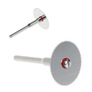 Диск для пилы по дереву 10 шт./компл. + 2 стержня Dremel, роторный режущий инструмент 10x25 мм, поддержка прямой поставки