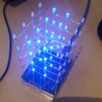 СВЕТОДИОДНЫЙ Набор для Arduino, DIY Kit, электронный набор 4X4X4,