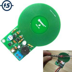 IS DIY Kit, комплект металлоискателя, электронный комплект постоянного тока 3 в-5 в 60 мм, модуль платы бесконтактного датчика, электронная деталь DIY, металлоискатель