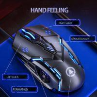 Игровая компьютерная мышь Тихая